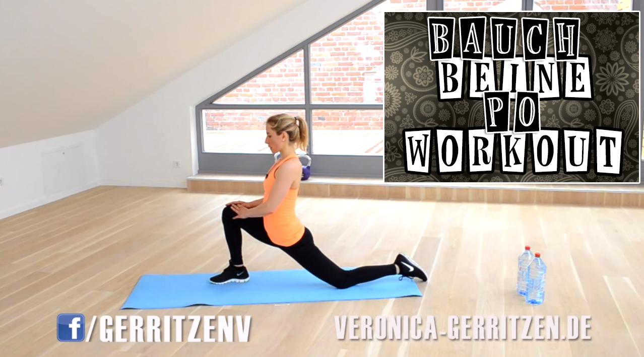 Post image for Bauch Beine Po Workout & Ganzkörper für zu Hause